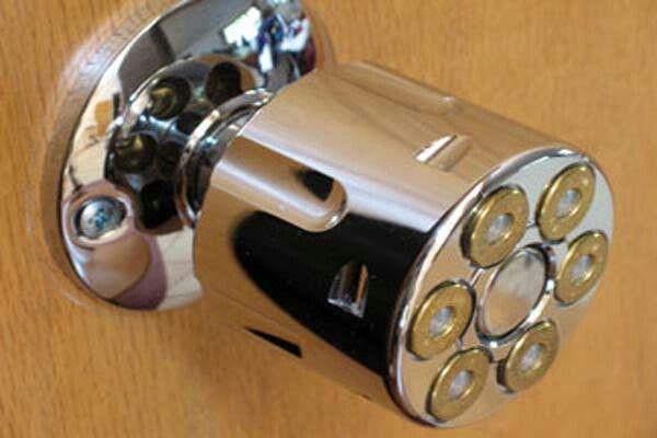 gun door knobs photo - 8