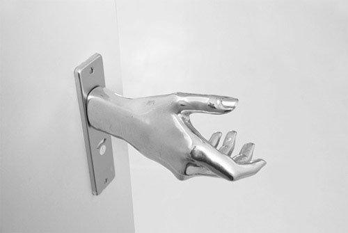 hand door knob photo - 7