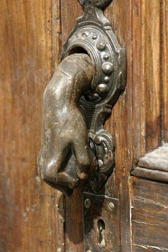 hand on door knob photo - 15