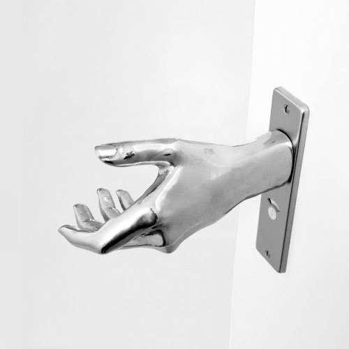 hand on door knob photo - 4