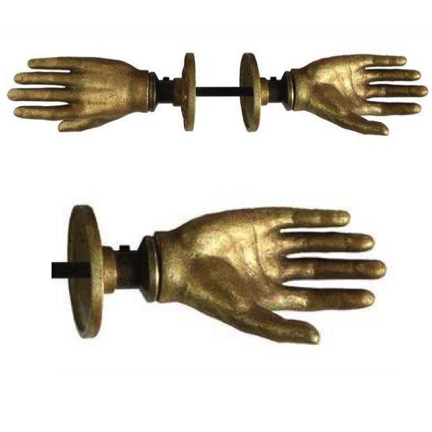 hand on door knob photo - 6