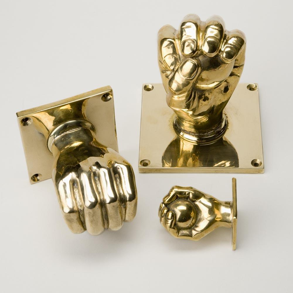 hand on door knob photo - 8