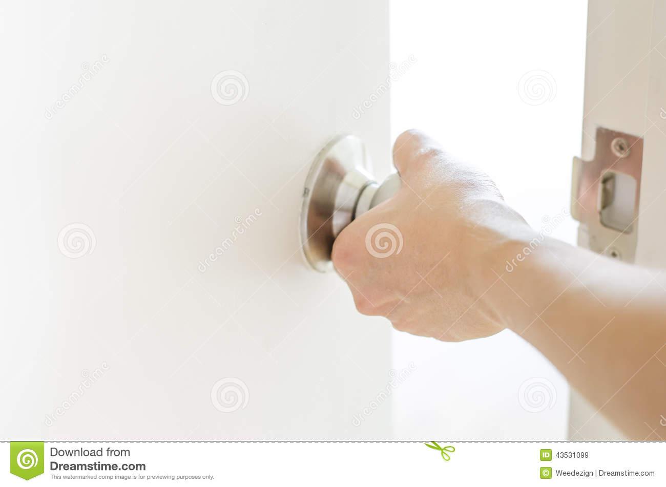 handshake door knob photo - 13