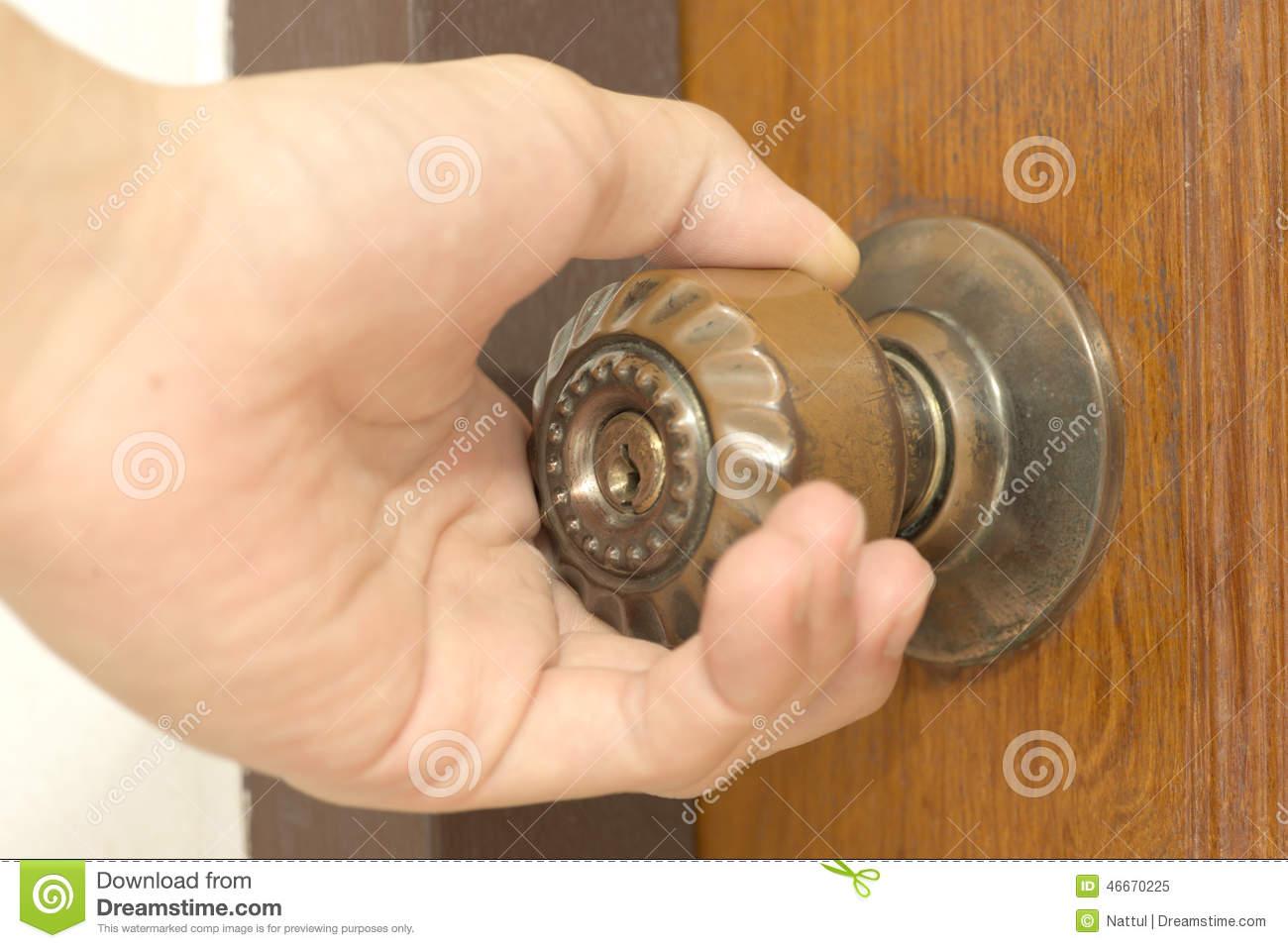 handshake door knob photo - 9