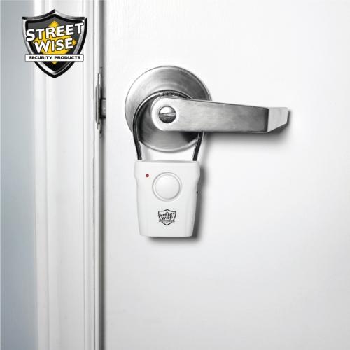 hanging door knob alarms photo - 11