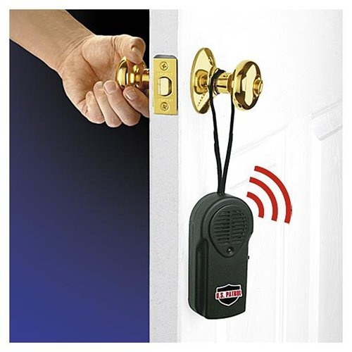 hanging door knob alarms photo - 5