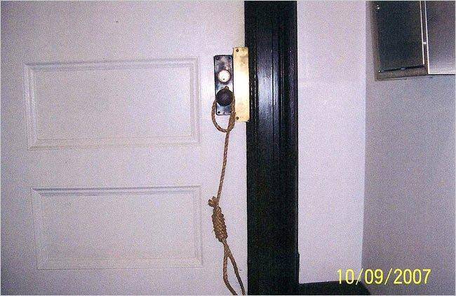hanging from door knob photo - 18