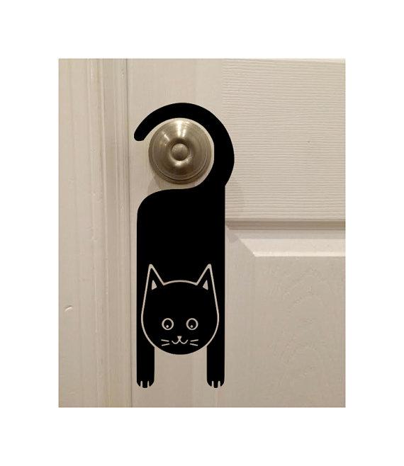 hanging from door knob photo - 2