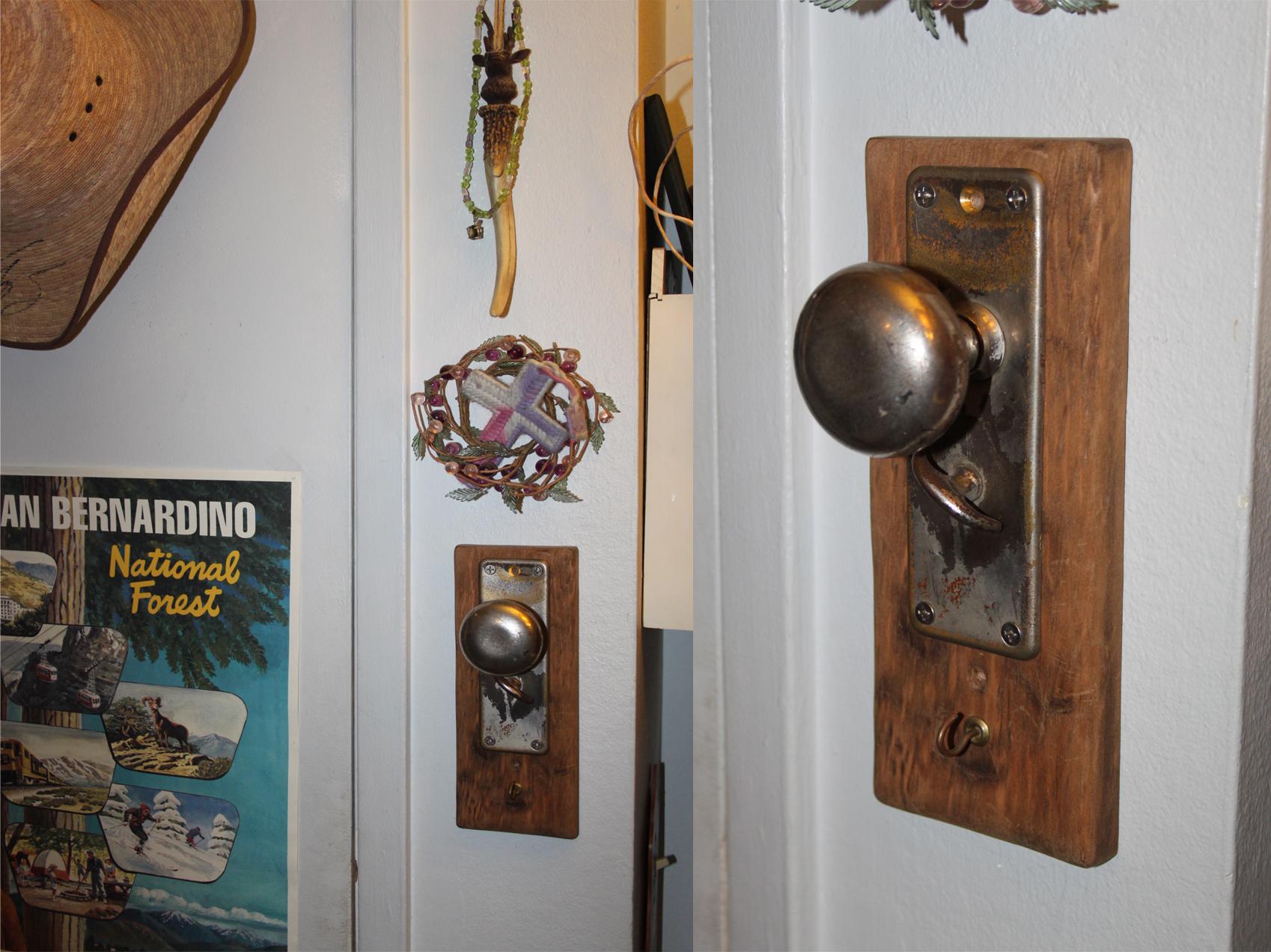 hanging from door knob photo - 5