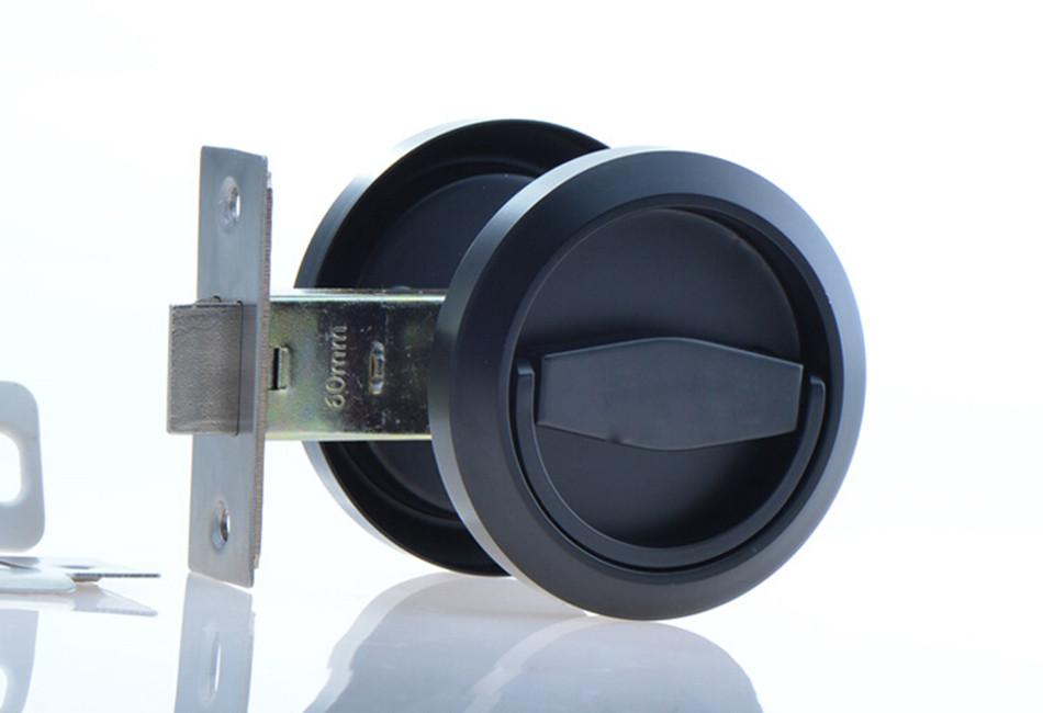 hidden door knob photo - 3