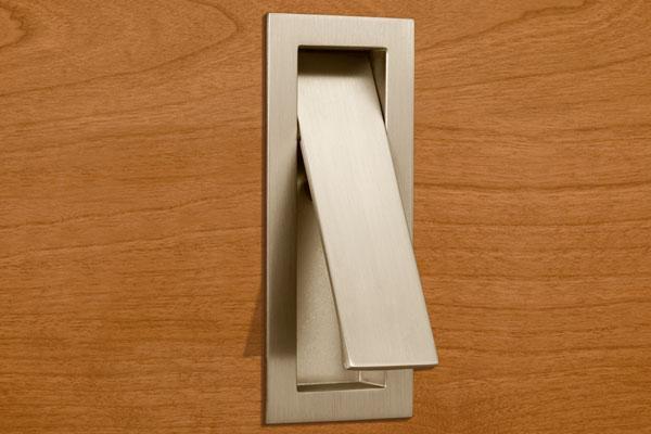hidden door knob photo - 5
