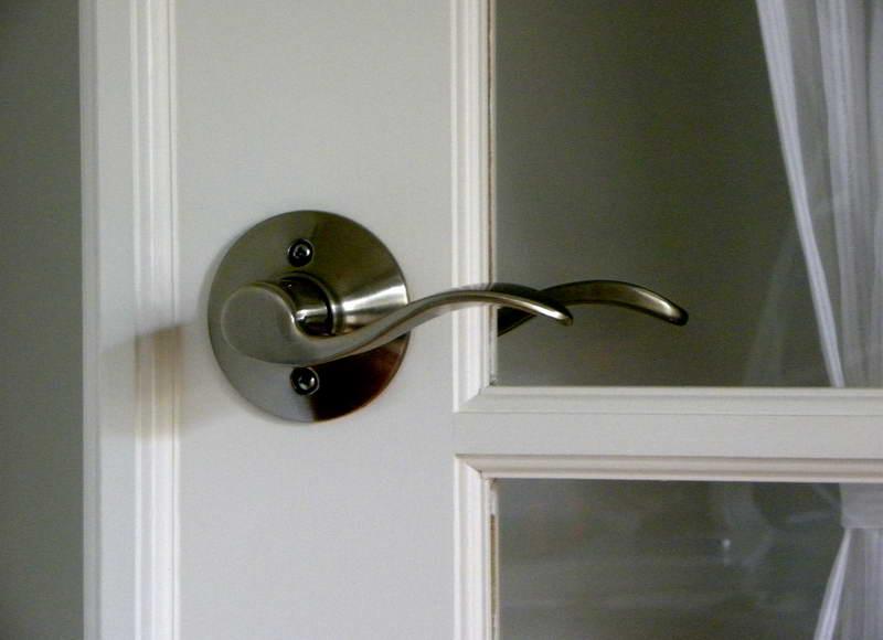 home depot door knob photo - 5