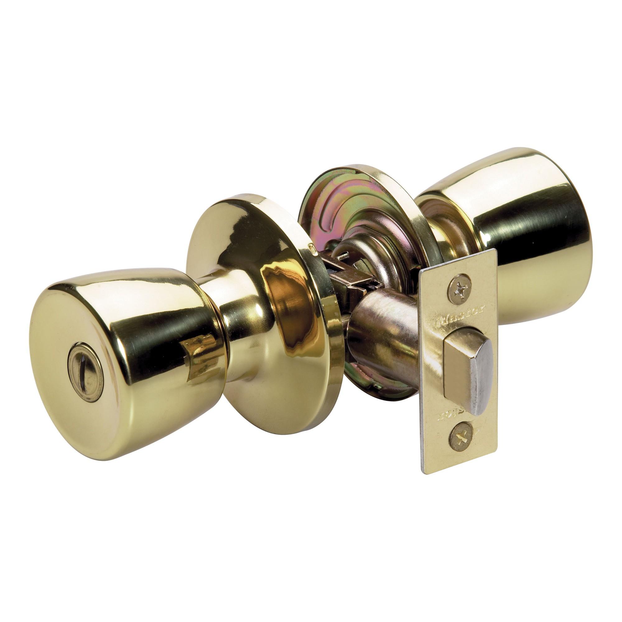 indoor locking door knobs photo - 1