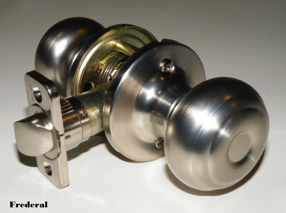 indoor locking door knobs photo - 18