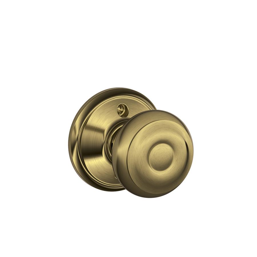 install schlage door knob photo - 1