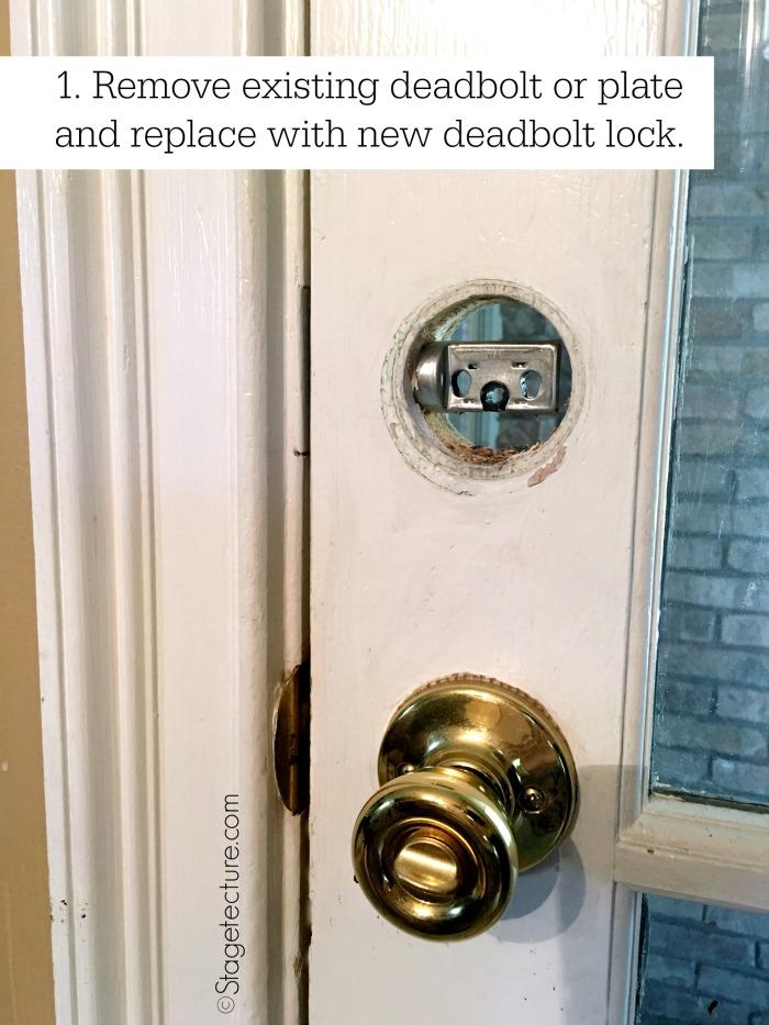 install schlage door knob photo - 16