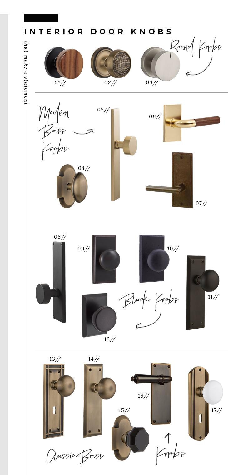 interior door knobs and hinges photo - 15
