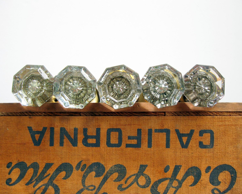 interior glass door knobs photo - 14