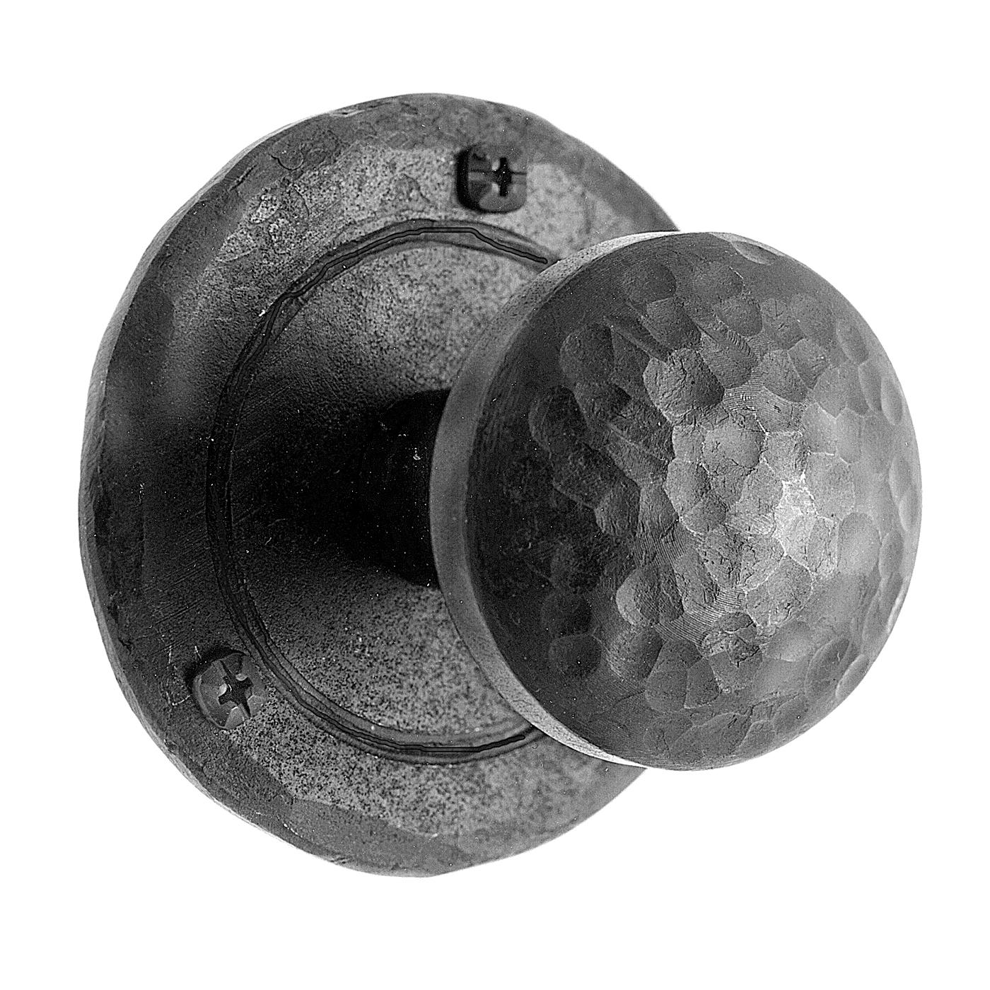 iron door knob photo - 1