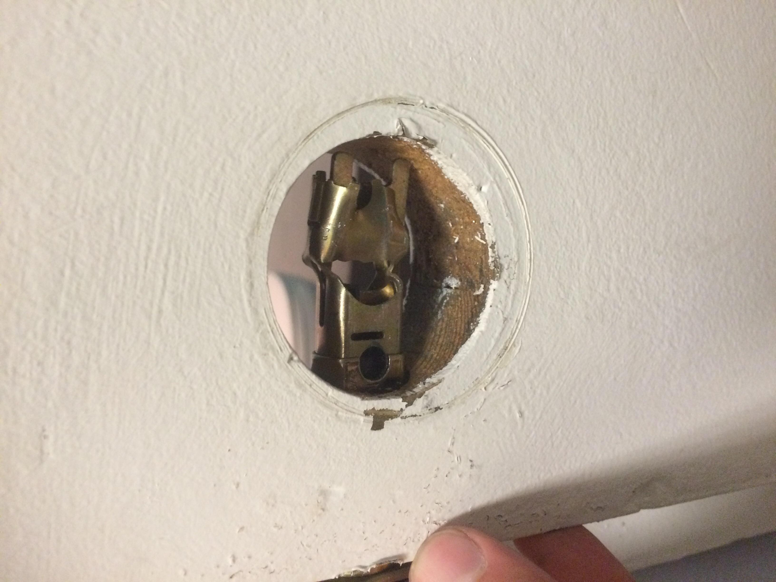 key stuck in door knob photo - 19
