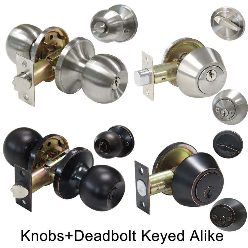 keyed alike door knobs and deadbolts photo - 8