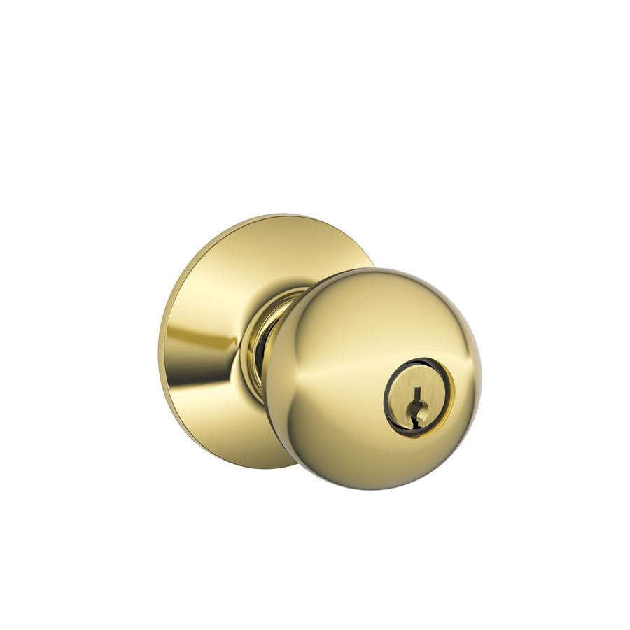 keyed door knob photo - 1