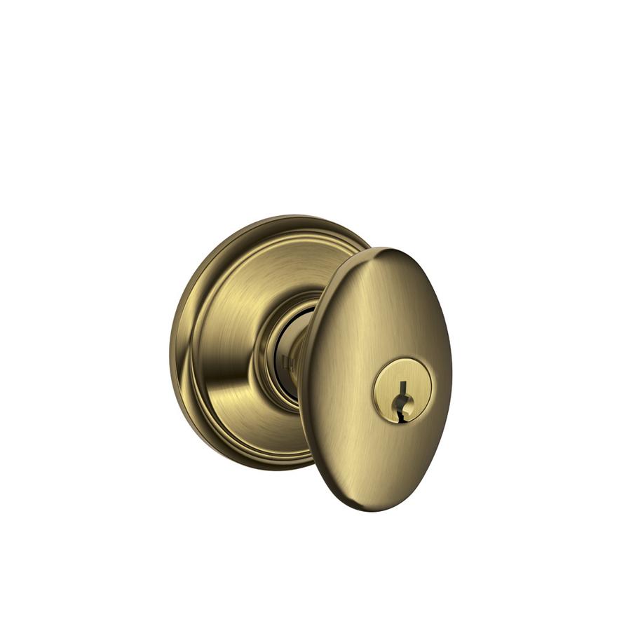 keyed door knob photo - 13