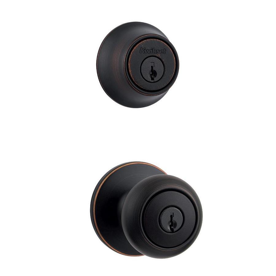 keyed door knob photo - 5
