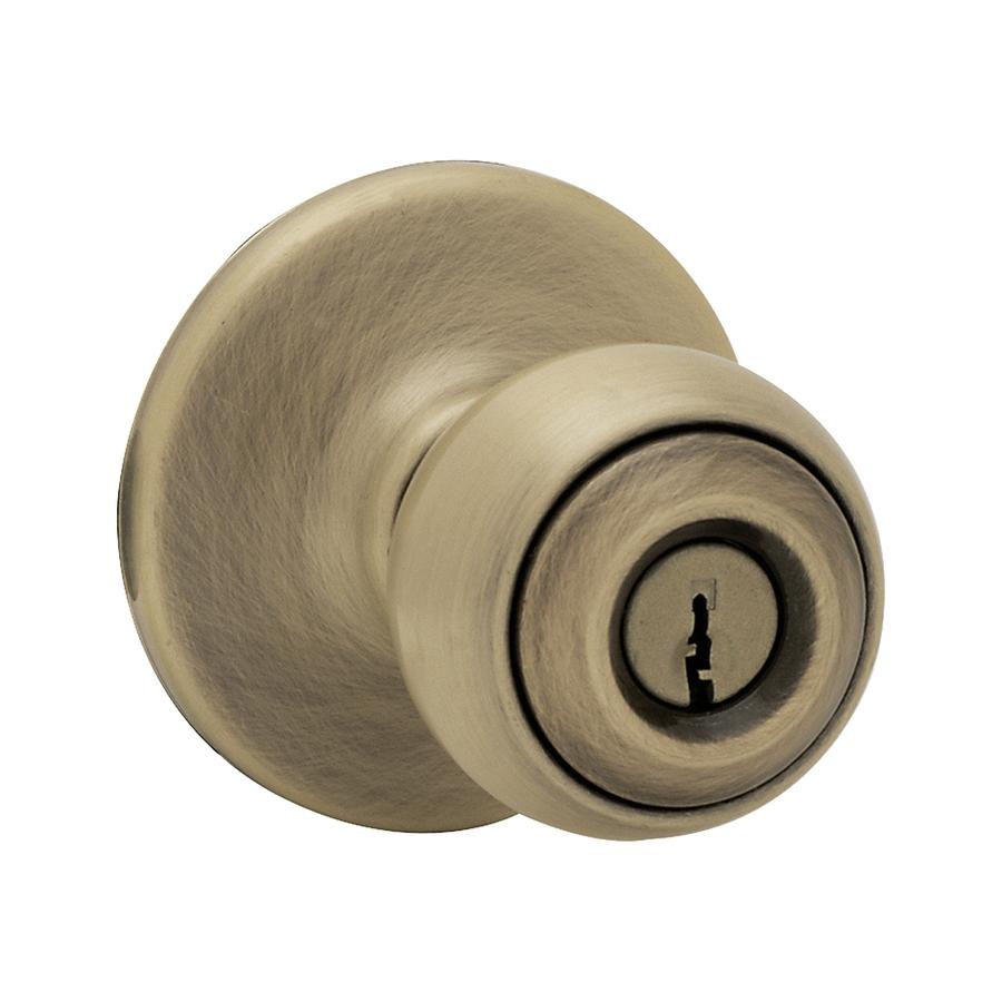 keyed door knob photo - 8