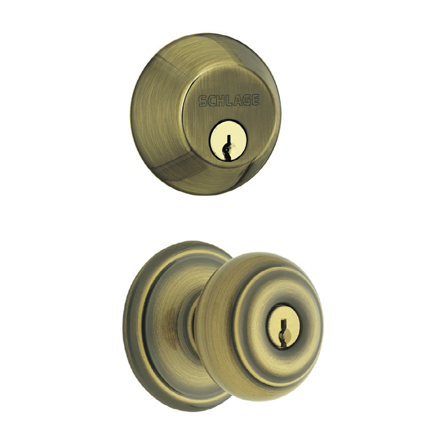 keyed door knobs photo - 5