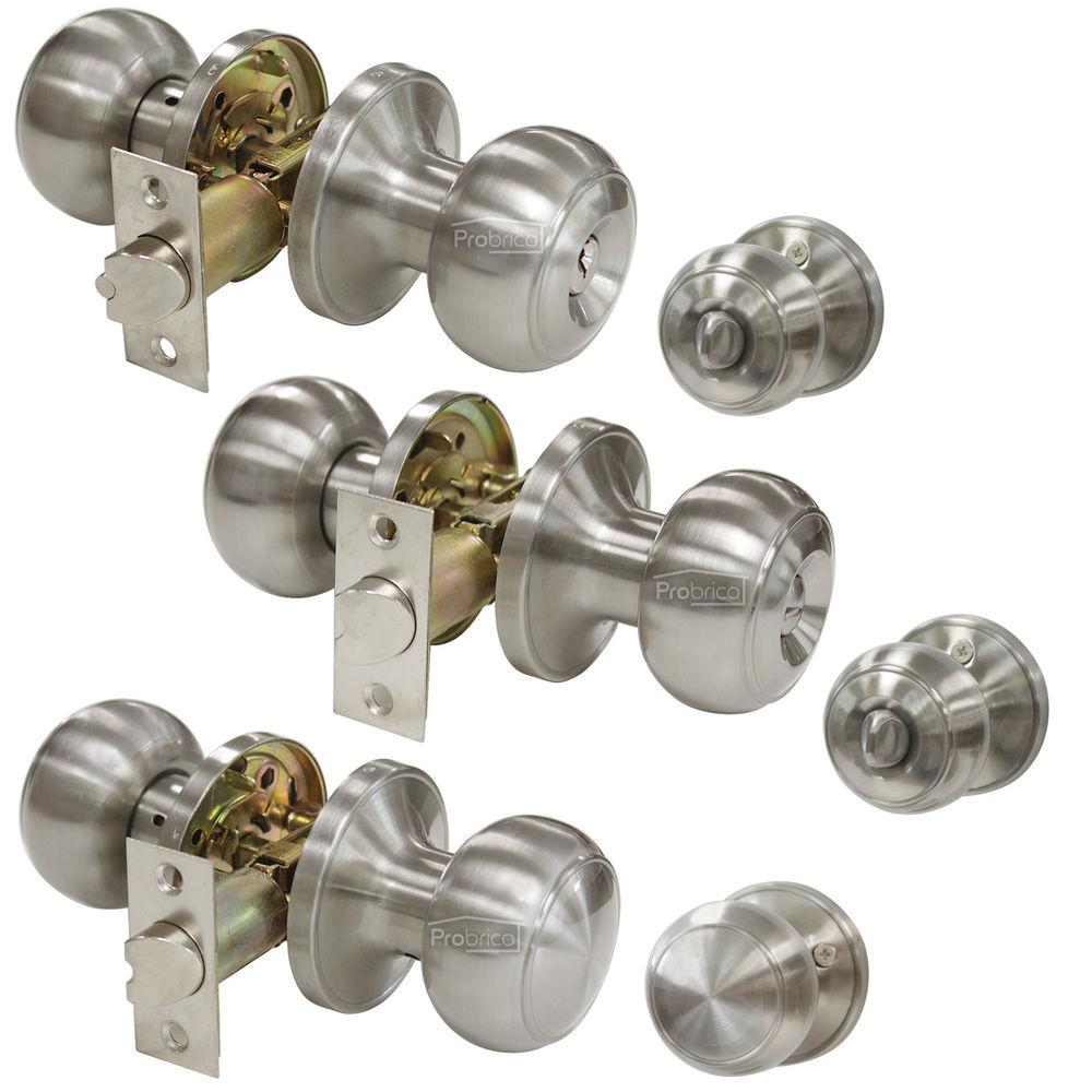 keyless door knobs photo - 7