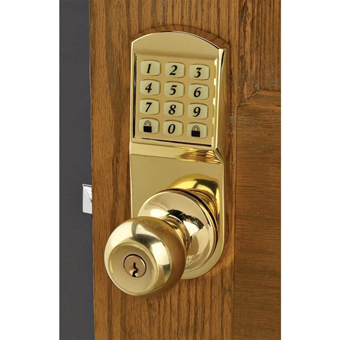 keyless door knobs photo - 8