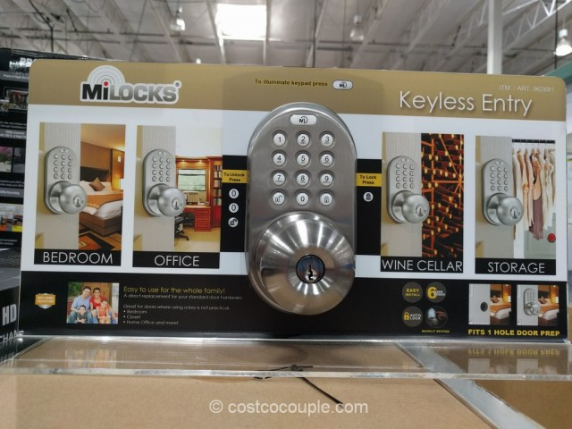keyless entry door knob photo - 13