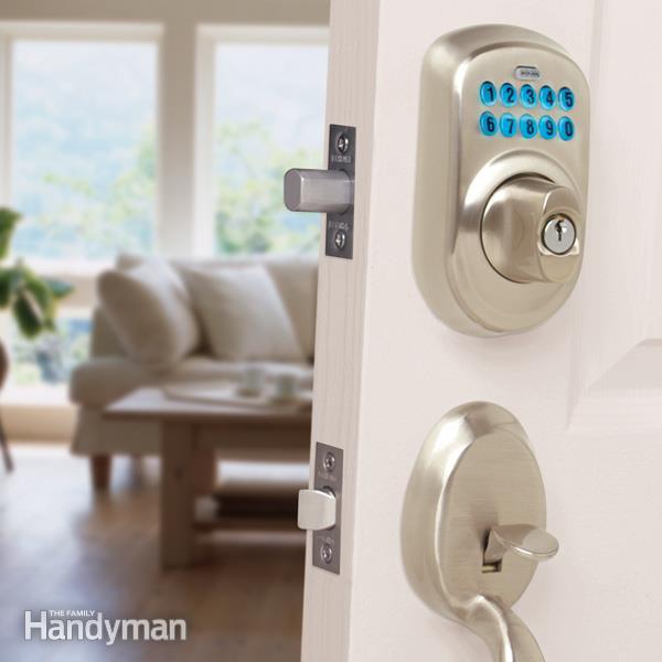 keyless entry door knob photo - 15