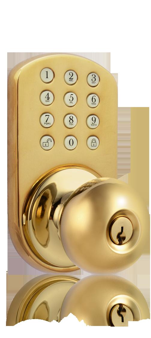 keyless entry door knob photo - 7