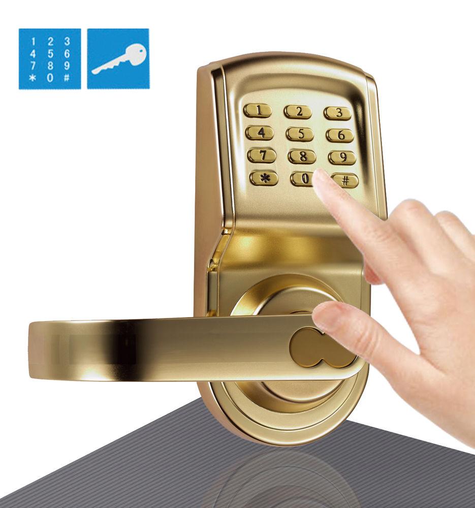 keypad door knob photo - 19