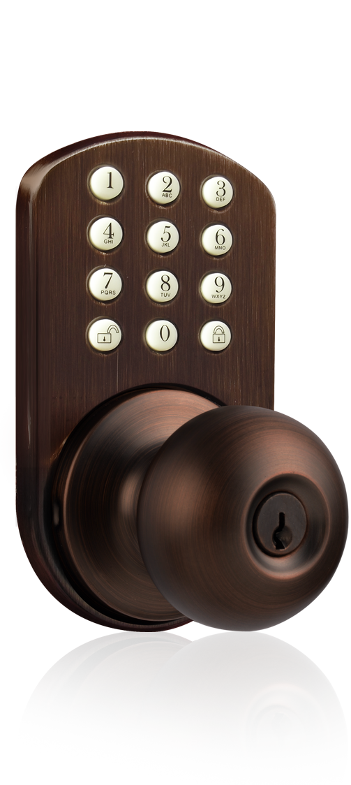 keypad door knobs photo - 11