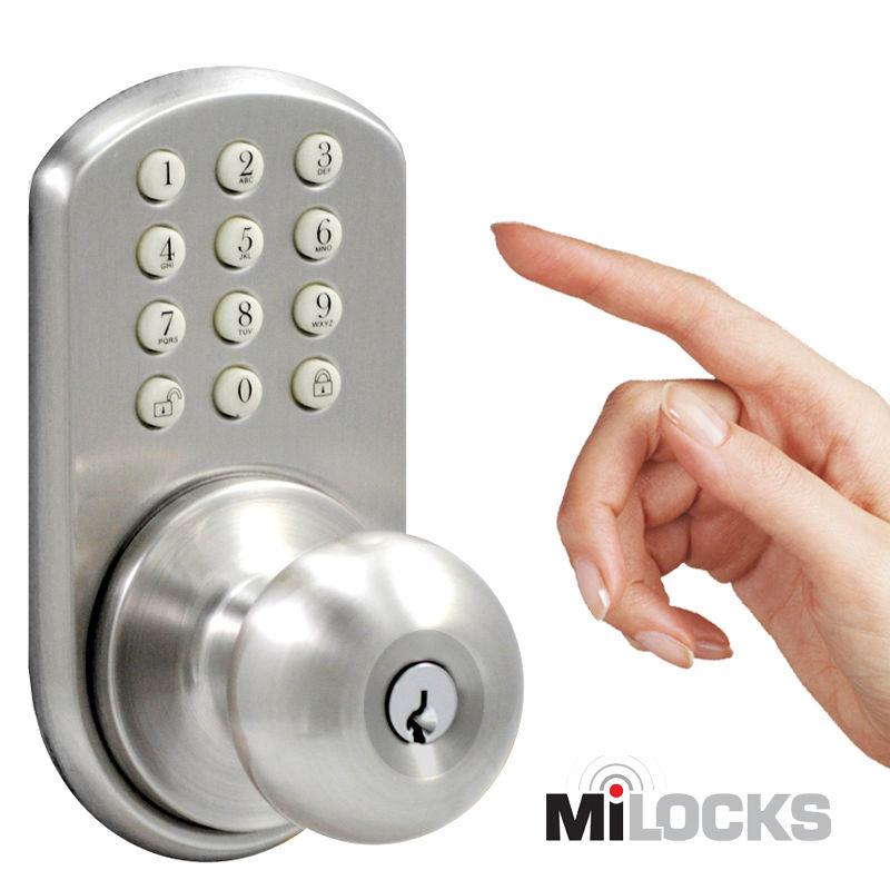 keypad door knobs photo - 6