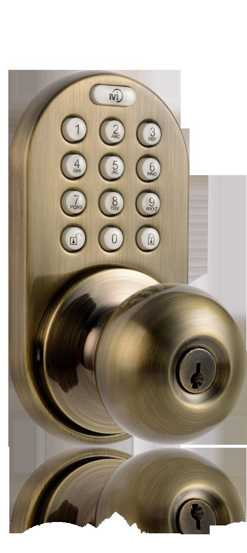 keypad door knobs photo - 9