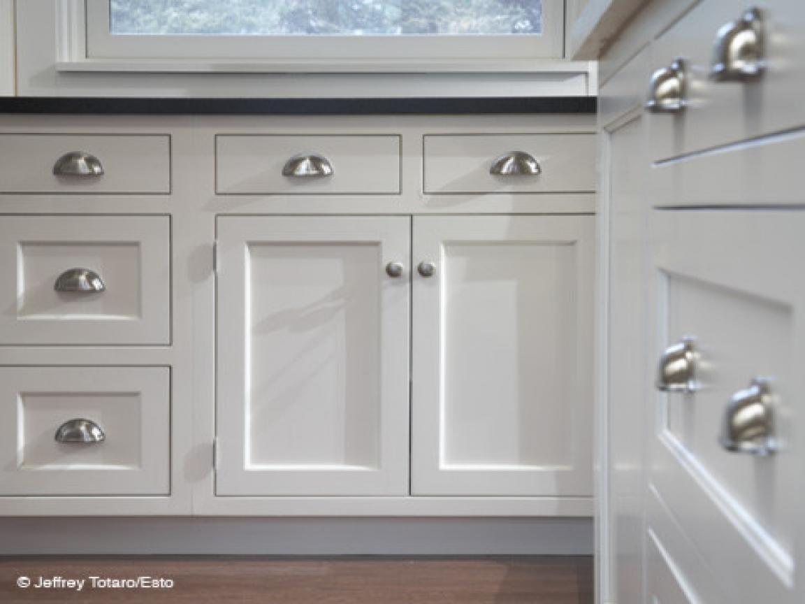 kitchen cabinet door knob photo - 11