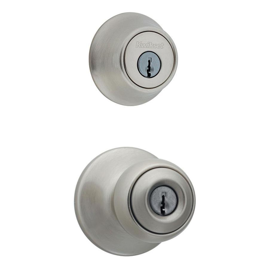 kwikset satin nickel door knobs photo - 11