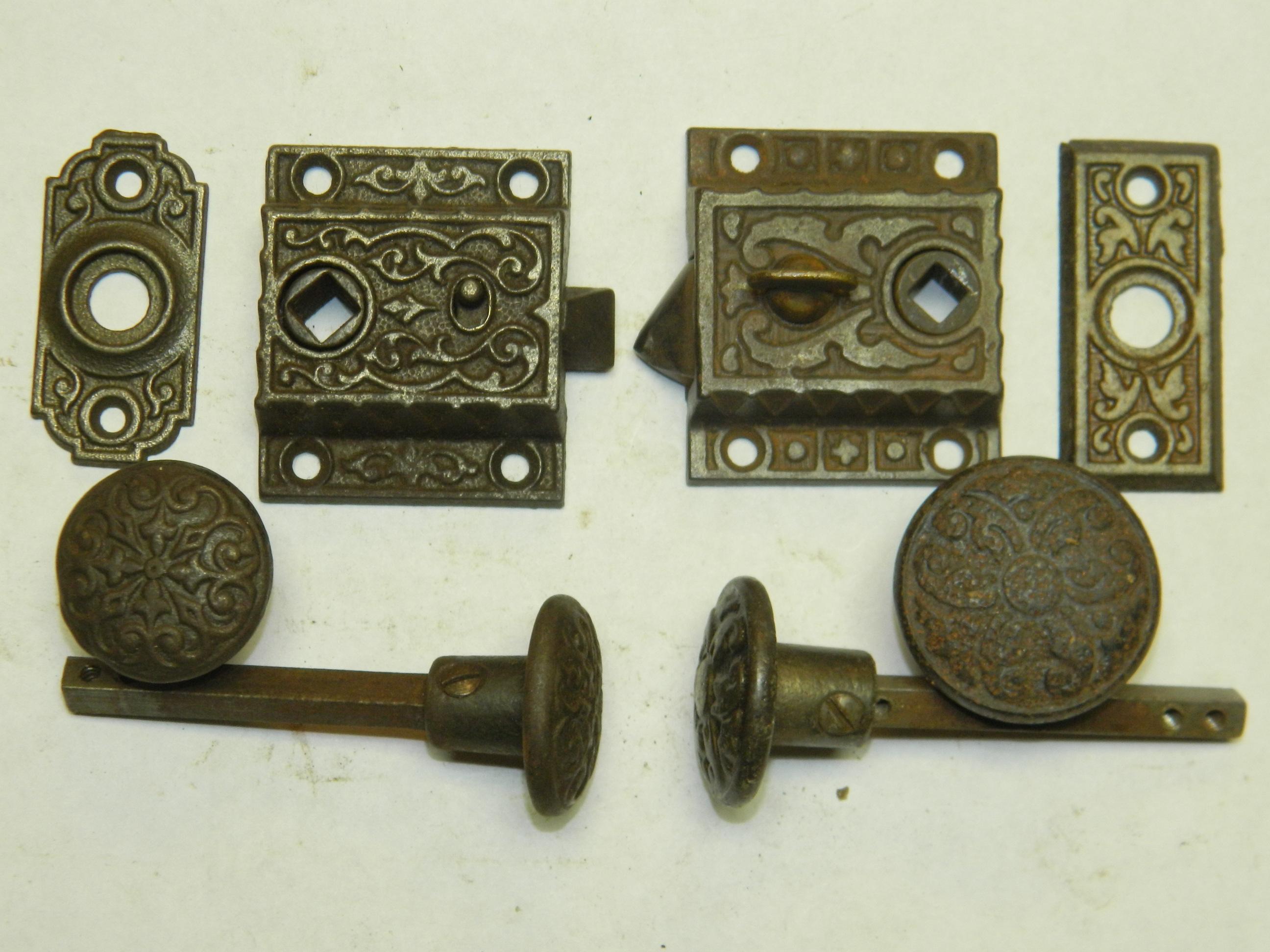 latch door knob photo - 17