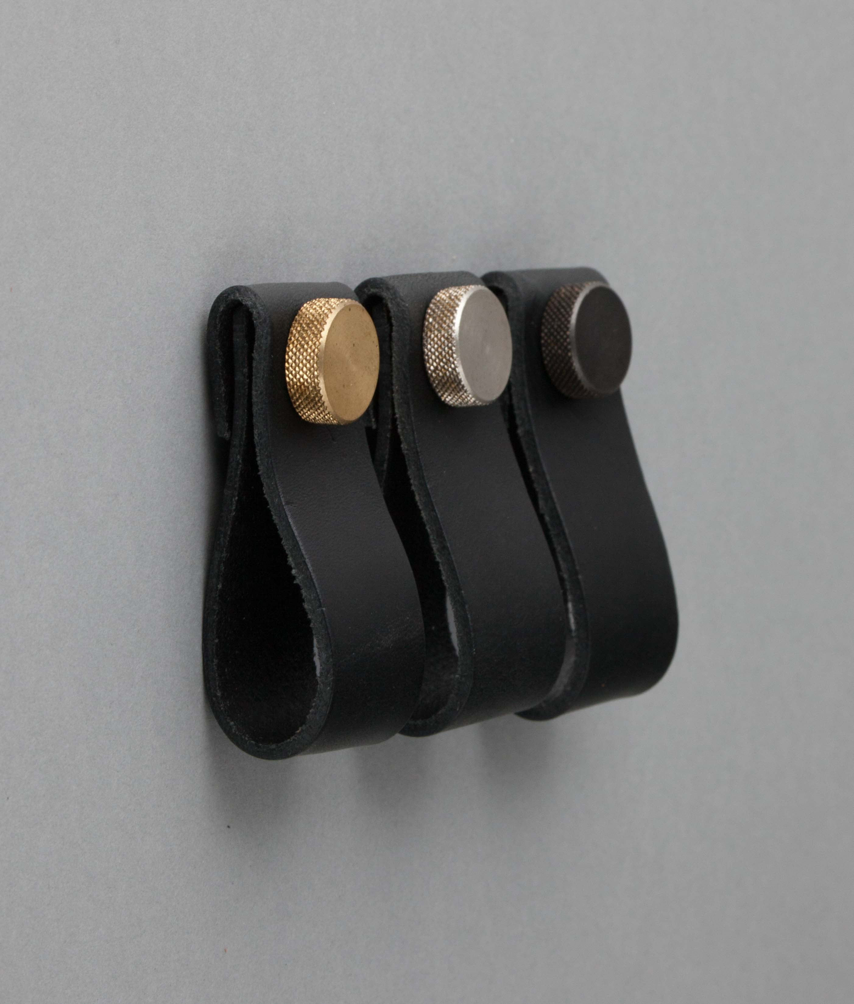 leather door knobs photo - 16