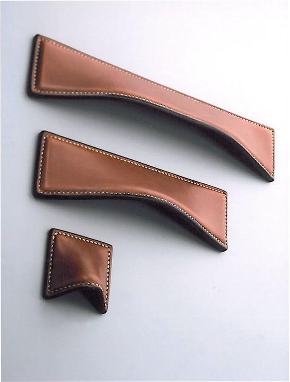leather door knobs photo - 20