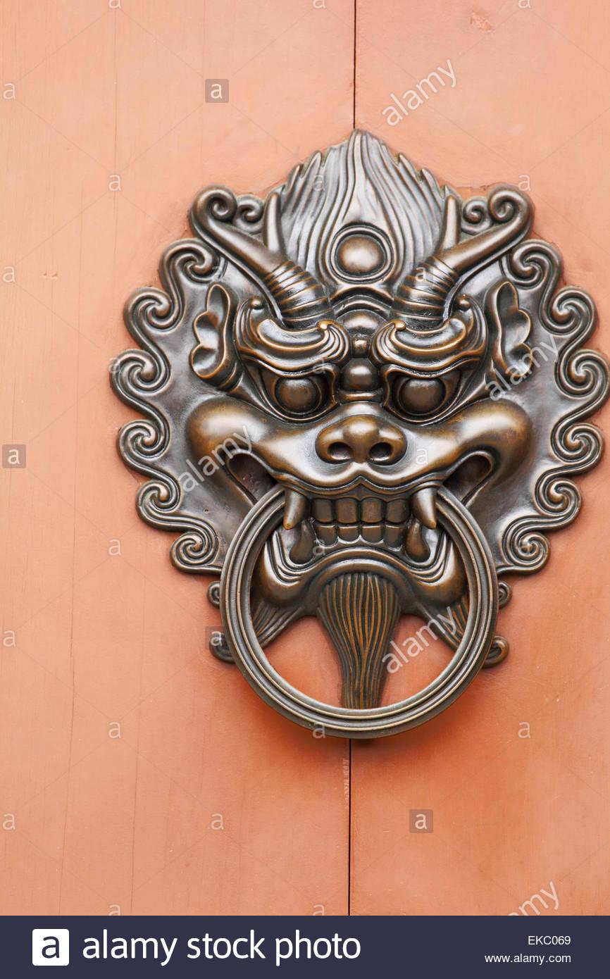 lion door knob photo - 11