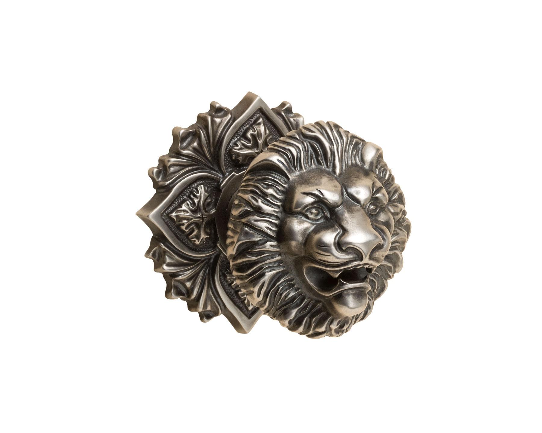 lion door knob photo - 17