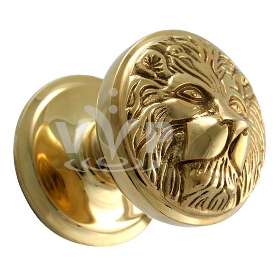 lion door knob photo - 3