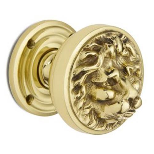 lion head door knob photo - 1