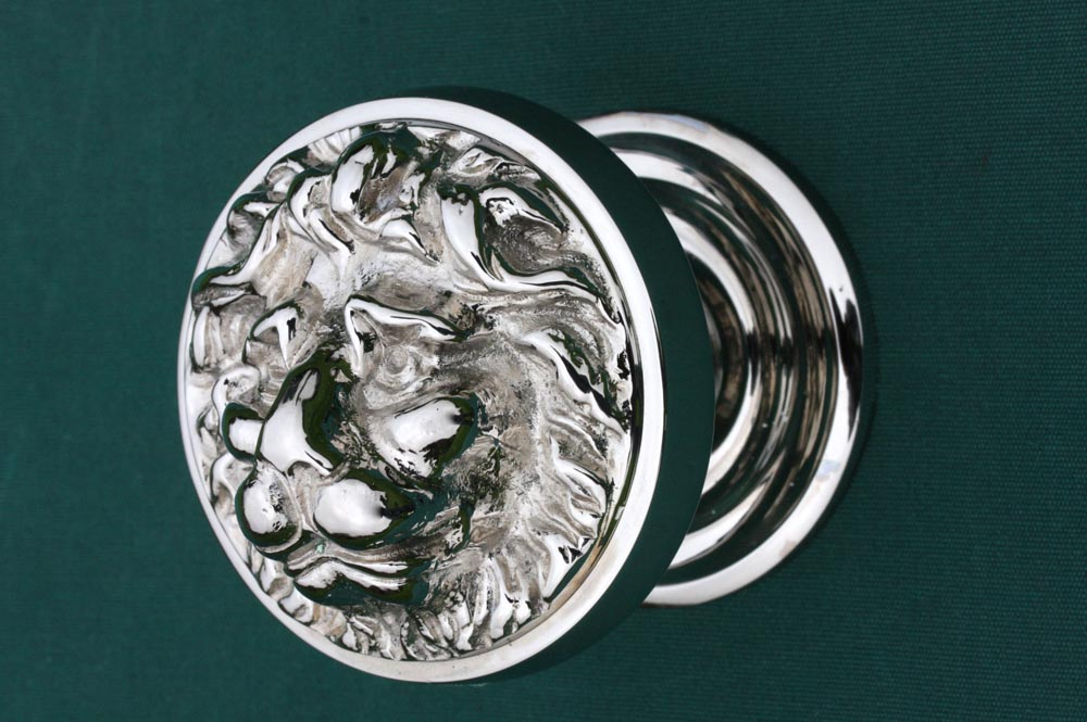 lion head door knob photo - 13