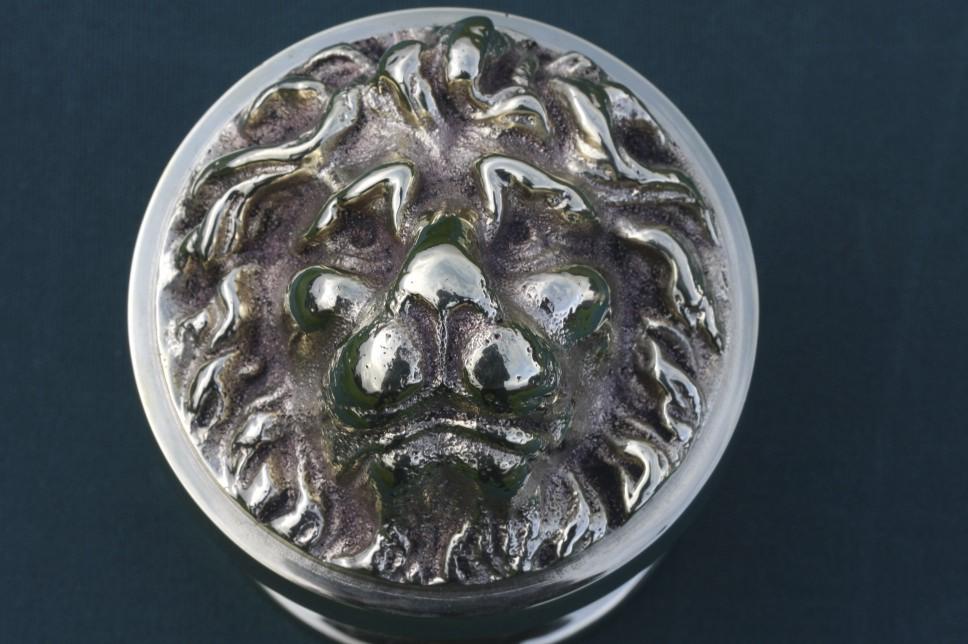 lion head door knob photo - 6